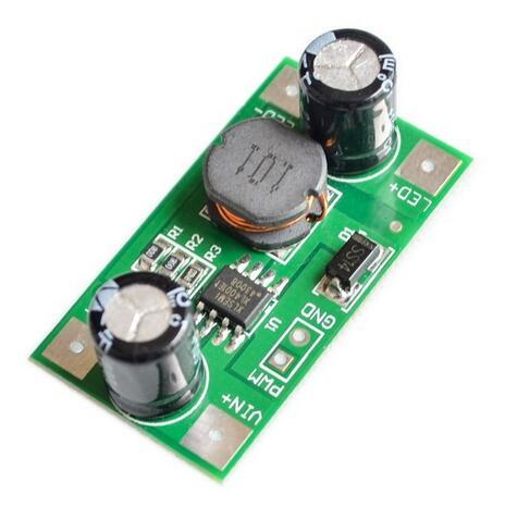 3W 5-35 в светодиодный драйвер 700мА ШИМ затемнение постоянного тока в постоянный понижающий постоянный ток