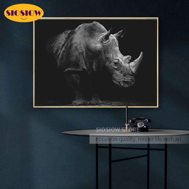 Paint Cross Stitch Diamond Embroidery kit Mosaic home Decorative dril rhinoceros