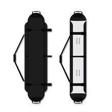 Skate carry bag durável desgastar-resistente conveniente portátil skateboarding skate capa longboard carregando mochila