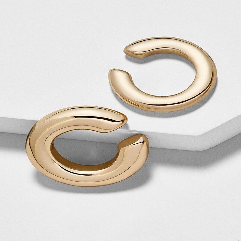 Bohemian Crystal Ear Cuff Earring for Women Multicolor C-Shape No Pierced Small Earring Bridal Wedding Ear Clip Jewelry Gifts
