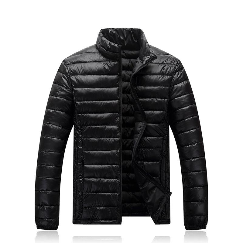 Men Coat Size M-XXXL Coat Winter Jacket Men Solid Color Warm Men Jacket All-match Casual Classic Design