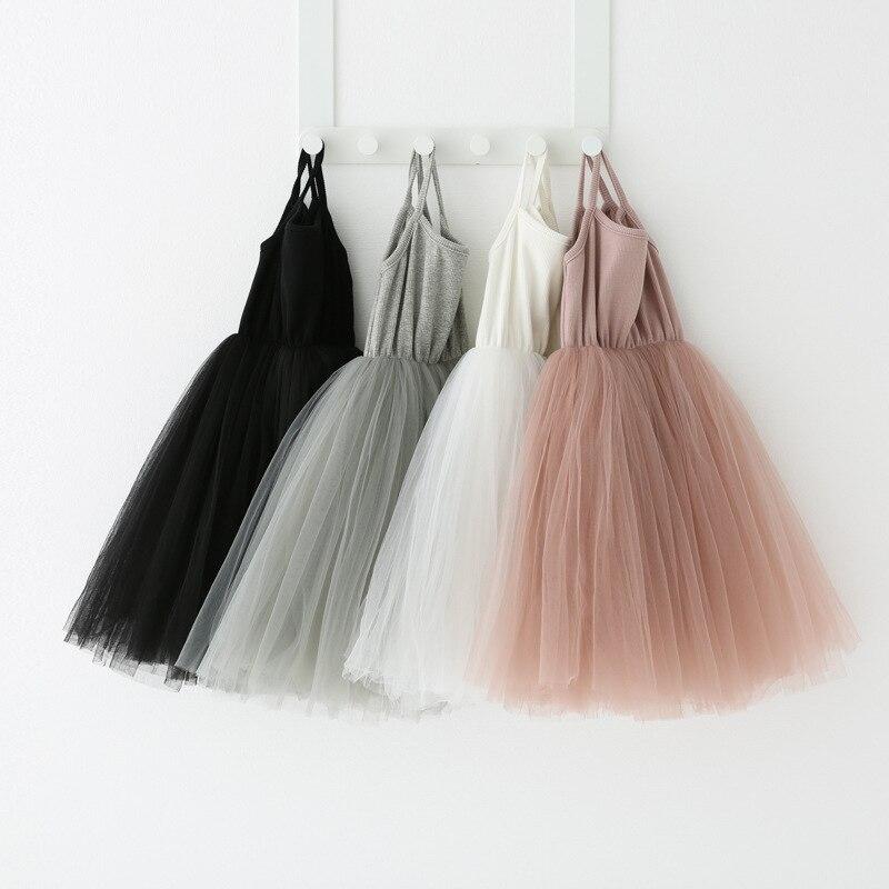 Baby Girls Clothes 2020 Sleeveless Tutu Princess Children Dresses Kids Girls Dress Baby Girl Summer Desses for Girls Party Wear 1