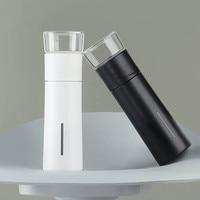 PINZTEA 300 مللي المحمولة مج مياه السفر في الهواء الطلق أكواب كوب حراري الشاي Infuser زجاجة الحاويات الدافئة حفظ كوب Mijia-في غلايات كهربائية من الأجهزة المنزلية على