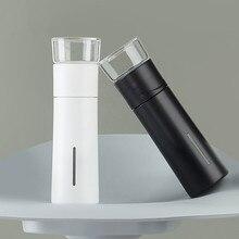 PINZTEA 300ml przenośny kubek do wody na zewnątrz kubki podróżne kubek termiczny zaparzaczem butelka pojemnik ciepły utrzymanie kubek Mijia