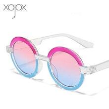 Kids Sunglasses Baby-Eyewear Round Vintage Girls Colorful Boys Goggles Children Xojox