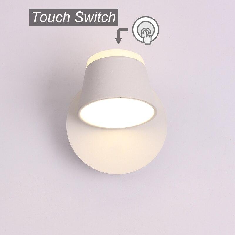 modern interior ajustar lampada de parede luzes 02