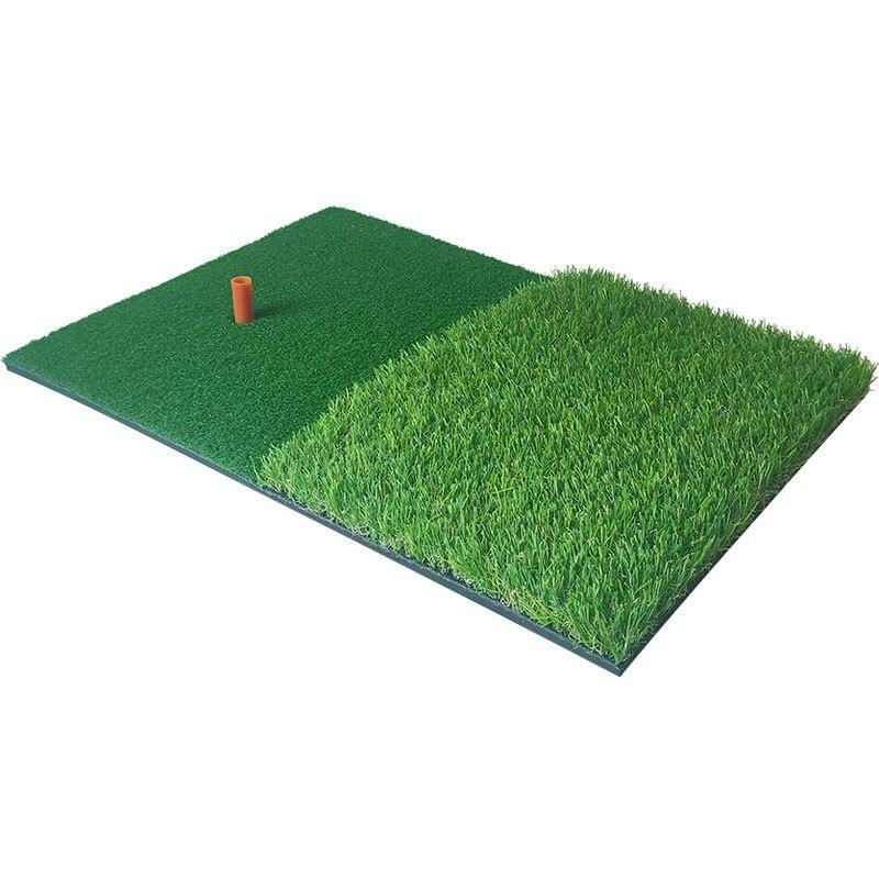 Golf Practice Mat Artificial Lawn Nylon Grass Rubber Tee Backyard Outdoor Golf Hitting Mat Durable Training Pad 40X60cm