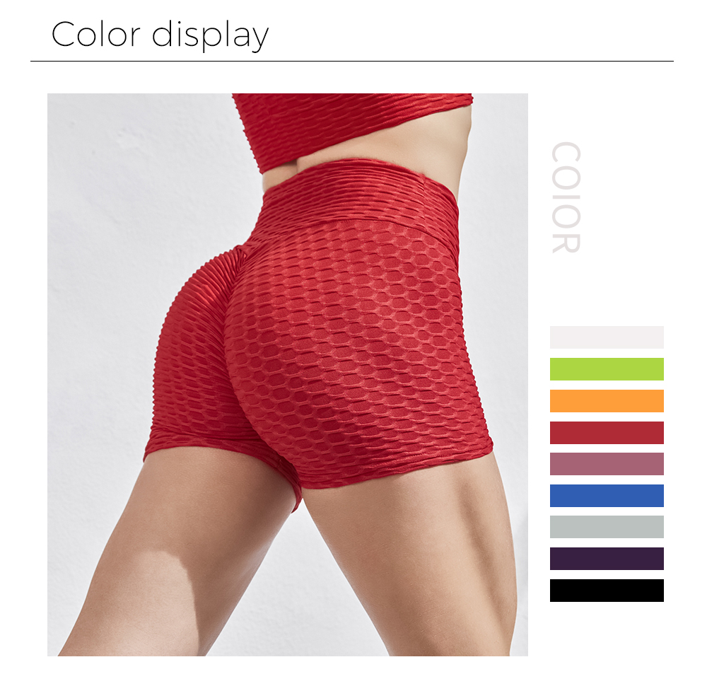 SALSPOR Women High Waist Stretch Shorts Workout Out Sportswear Running Fitness Women Shorts Athletic Legging Women Clothing