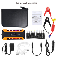 Multi-function 18000mAh Car Jump Starter 1200A Portable Starting Device Booster Power Bank 12V Car Charger Car Battery Buster