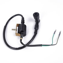 Universal 50CC-125CC Mini ATV Wiring Harness CDI Stator 6 Coil Tiang Pengapian Set(China)
