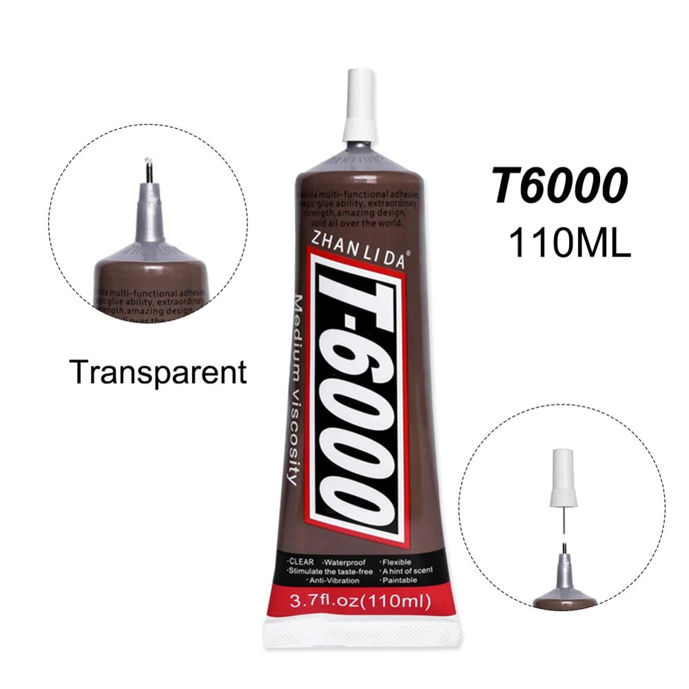 High Temperature 110ML Super T6000 Glue Adhesive Stone Metal Wood Fabric Textile Clothes Leather Plastic E8000 B7000 E6000 E7000