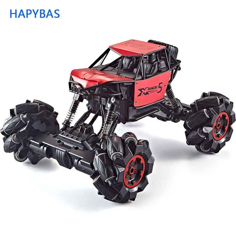 1:16 Remote Control Car RC Car 4WD 2.4Ghz Rock Crawler Remote Control Toys Stunt Drift Climbing Car Christmas Toys Gift