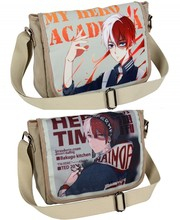 TV Animation Todoroki Shoto Cosplay My Hero Academia Crossbody Satchel Schoolbag Bookbag Shoulder Laptop Bags Cute Cartoon Gifts(China)