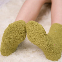 Women Socks 1 Pair Fashion New Long Winter Candy Color Cute Heart Thick Soft Warm Lady Woman Kawaii