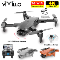 Nuevo L900 Pro GPS Drone 4K profesional Cámara Dual de HD 5G WIFI FPV RC 28min distancia de vuelo 1,2 km de Motor sin escobillas Quadcopter S4