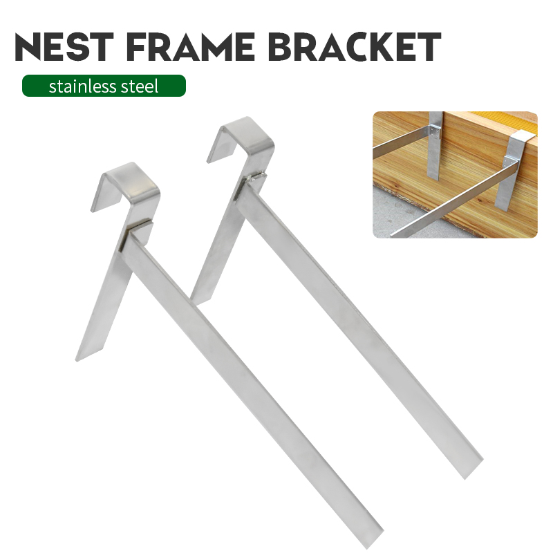 Beekeeping Beehive Frame Holder  Perch Stand Support Bracket Rack Bee Hive Perch Side Mount Tools