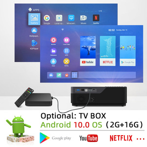 Image 4 - 2020 New BYINTEK K19 1080P Full HD LCD LED Home Theater Digital laSeR Video 3D 4K Projector Beamer(Optional Android 10 TV Box)