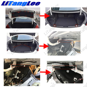Image 5 - LiTangLee Car Electric Tail Gate Lift Trunk Rear Door Assist System For BMW 6 Series F06 2011~2018 Original key Remote Control
