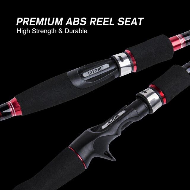 Goture AQUILA Carbon Spinning Casting Rod M Power Ultralight Telescopic Fishing Rod 2.1M, 2.4m , 2.7m , 3.0m For Pike Bass Carp