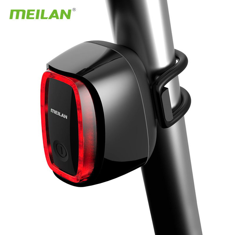 Bike light Smart Brake Bicycle Rear Led Taillight USB Rechargeable Flash light MTB Bicycle lights Lantern Cycling Accessories