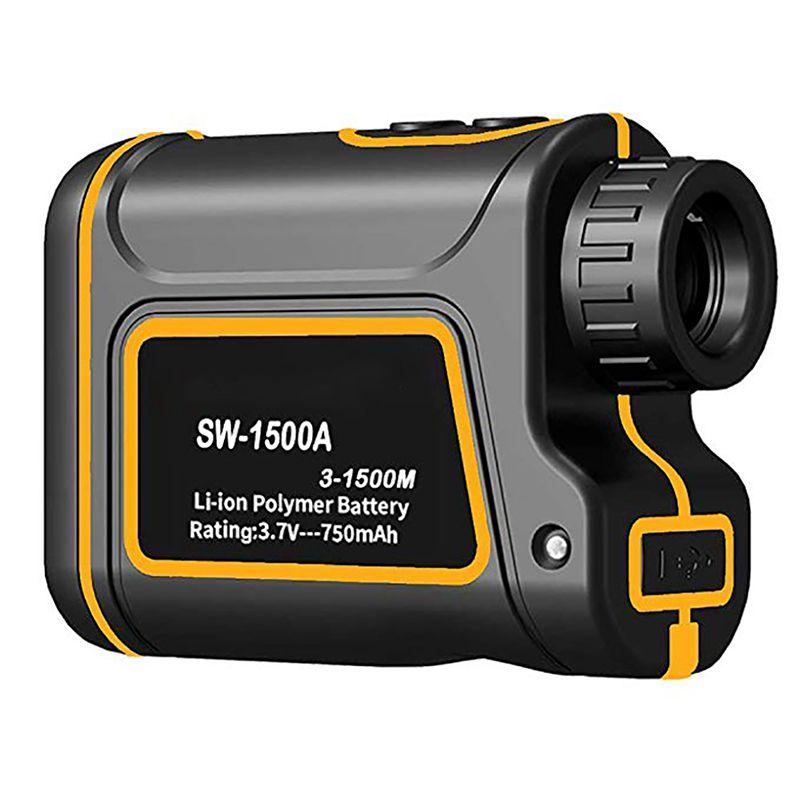 Handheld Laser Rangefinders Distance Meter Digital 600M/1000M/1500M Monocular Outdoor Golf Laser Range Finder Tape Measure