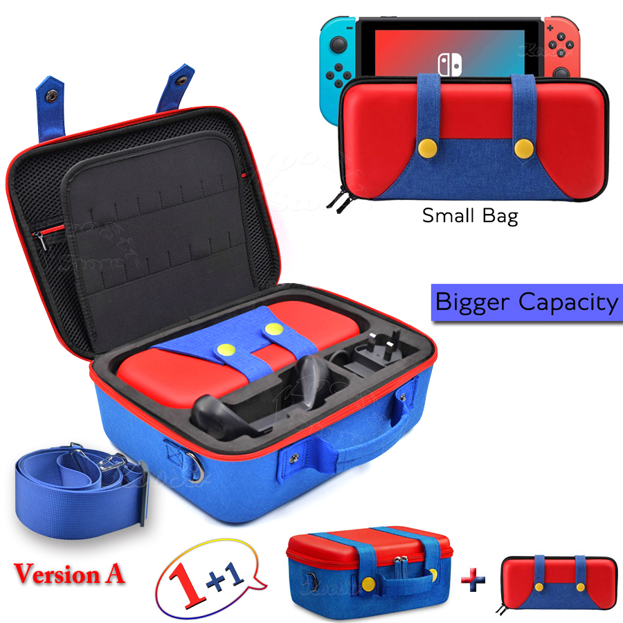 Nintendos Big Case Nintend Switch NS Accessories Console Carrying Storage Cover Nintendoswitch Hand Bag Box for Nintendo Switch(China)