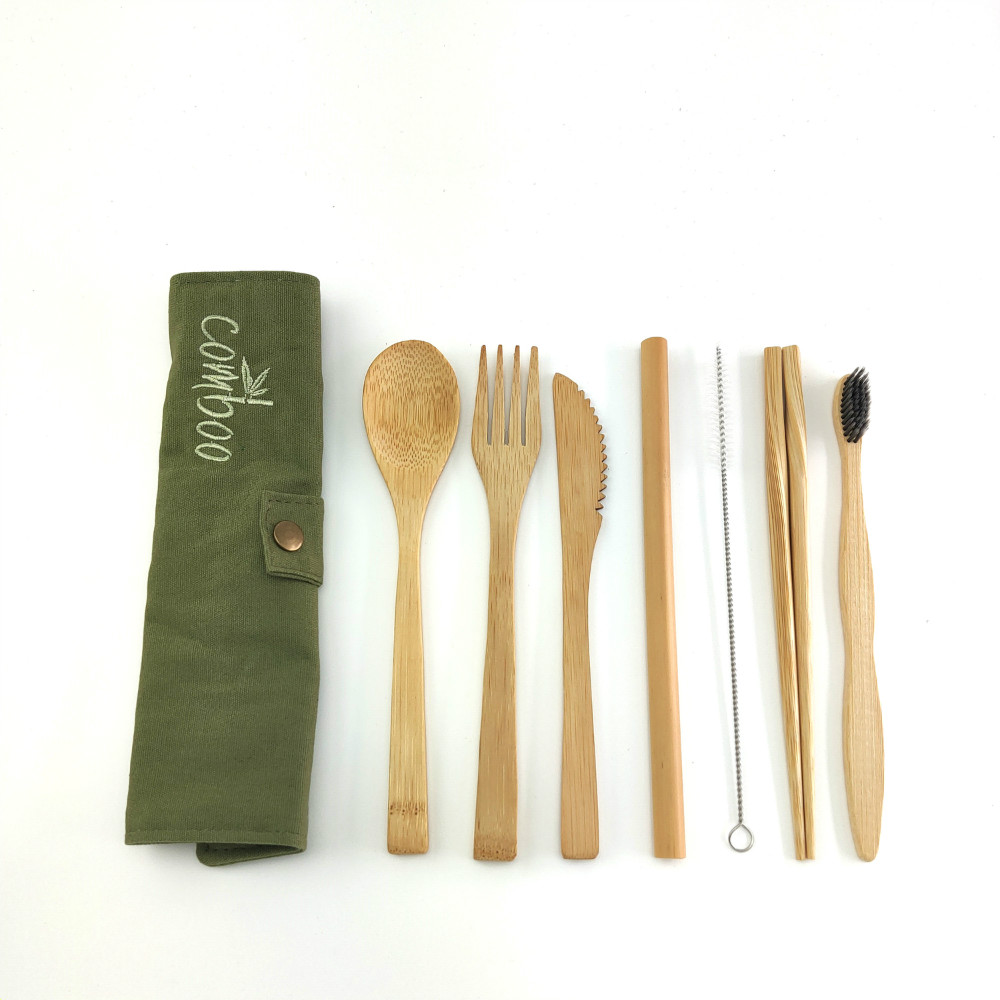 Bamboo Travel Utensils