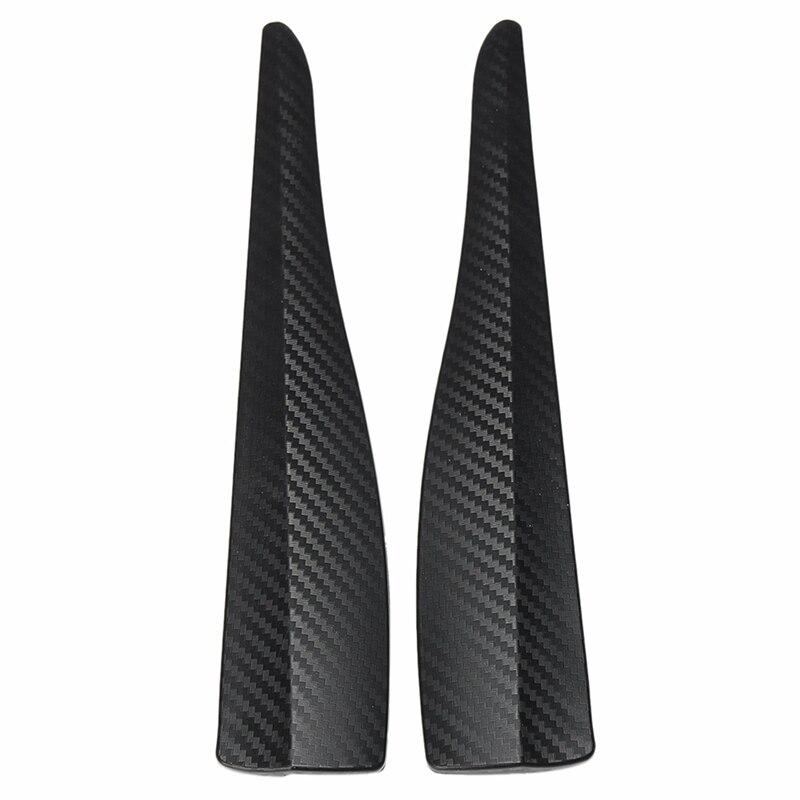 Universal 2Pcs Car Front Bumper Protector Guard Corner Strip Crash Bar Trim Protection Door Guards Lip Deflector|Styling Mouldings| |  - title=