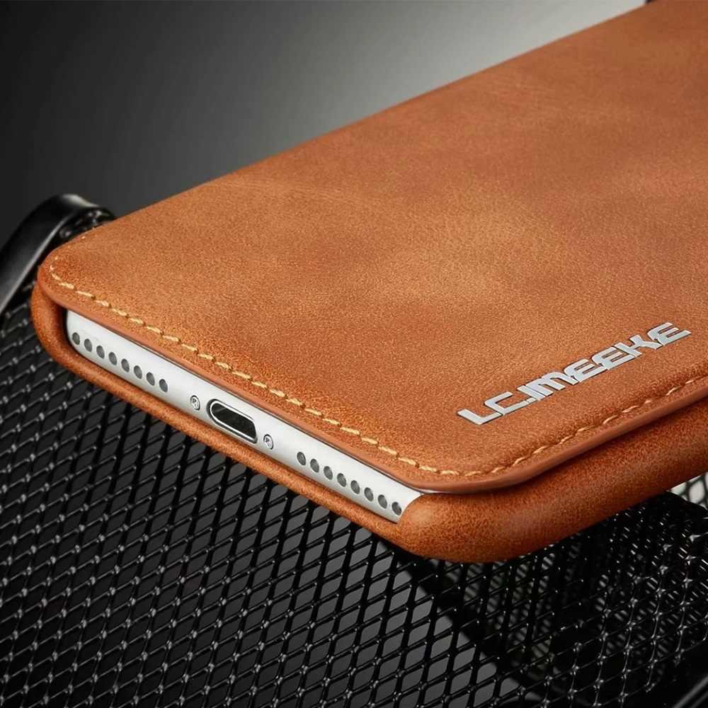 Sang Trọng Siêu Mỏng Bao Da Flip Cover Cho Samsung S20 Cực Note 10 Plus S10 5G S10e A71 A51 a70 A50 A20 A20e Note 9 S9 S8