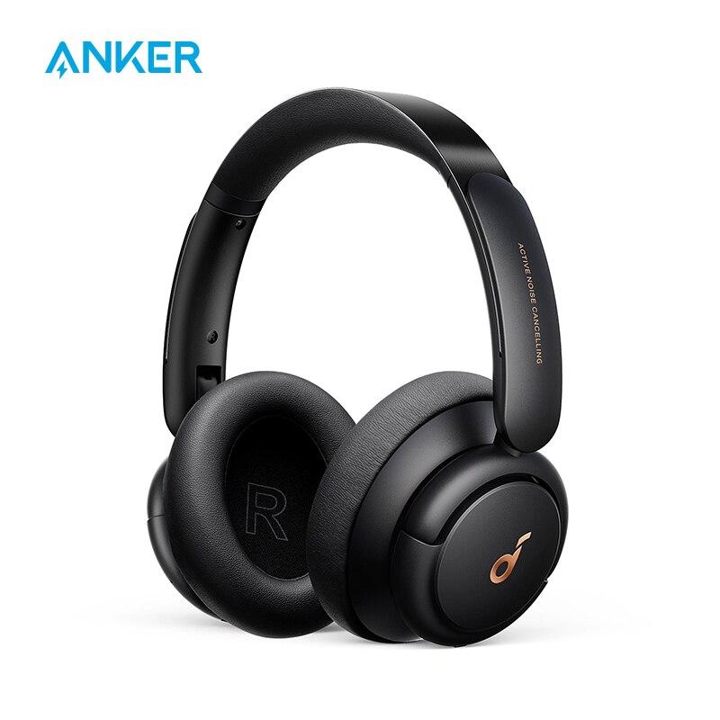 سماعات Soundcore by Anker Life Q30 سماعات هجينة لإلغاء الضوضاء النشطة مع أوضاع متعددة ، صوت عالي الدقة ، وقت لعب 40H سماعات الرأس وسماعات الأذن  - AliExpress