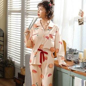 Image 4 - BZEL sıcak satış gecelik kadın pijama setleri karikatür pijama takım elbise sevimli kadın kıyafeti iç çamaşırı artı boyutu Pijamas pijama XXXL