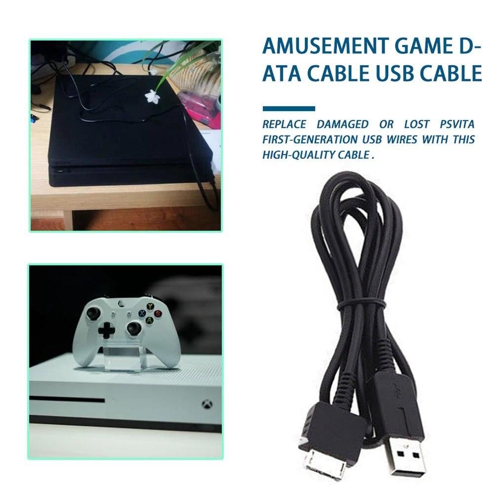 2 в 1 USB-кабель для зарядки, кабель для передачи данных и синхронизации, линия адаптера питания, провод для psv 1000 Psv ita PS Vita PSV 1000