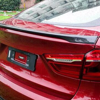 For BMW X6 E71 Modified M-Perform Style Carbon Fiber Rear Luggage Compartment Spoiler Car Wing 2008~2013
