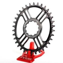 Kamień owalny pojedyncza tarcza 5mm przesunięcie bezpośrednie mocowanie Rex1 Rex2 30mm oś wąska z szerokimi zębami 30T 32T 34T 36T 38T koło rowerowe