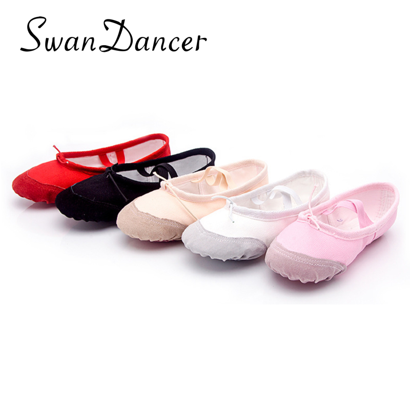 Yukigaga Girls Kids Pointe Shoes Dance Slippers High Quality Ballerina Boys Children Women Practice Shoes For Ballet Shoes