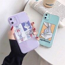 De dibujos animados lindo bichos del teléfono de silicona funda para Samsung Nota 10 8 9 plus S20 plusS10 E S9 S8 S7 A30 A50 A70 A80 A90 A5 A8 A9 suave Capa