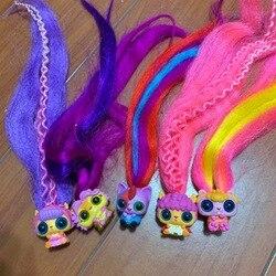 1 шт. копия версии Pop pop Hair Surprise глухая коробка Pop Art Doll Magic парикмахерская расческа головной убор Игрушки для девочек Рождественский подарок
