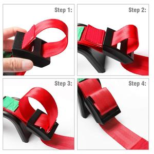 Image 3 - 2 Pcs Pregnant Safety Belt Confort & Safety Car Accessories Car Seat Belt Adjuster for Maternity Moms Belly Protect Unborn Baby