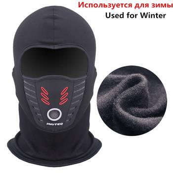 Nowe motocyklowe ochronne nakrycia głowy maski zimowe ciepłe narciarskie motocyklowe maska kolarska na twarz kask czapka wiatroszczelna kominiarka polarowa kapelusz tanie i dobre opinie