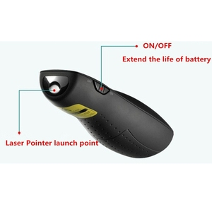 Image 4 - R400 2.4Ghz USB Wireless Presenterปากกาเลเซอร์PPTรีโมทคอนโทรลสีแดงเลเซอร์สำหรับการนำเสนอPowerPoint