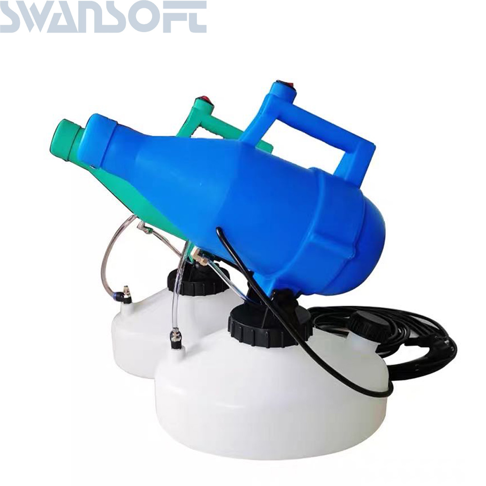 SWANSOFT 220V 4.5L Electric ULV Fogger Sprayer low capacity sprayer for virus disinfection cold fogging machine  - buy with discount