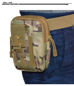 Image 2 - حقيبة خصر رياضية 600D مناسبة للأغراض الرياضية التكتيكية العسكرية الصدرية التكتيكية حقيبة هوائية مناسبة للصيد في الهواء الطلق معدات كامة