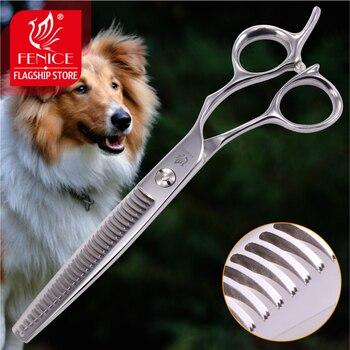 Fenice, tijeras profesionales para mascotas de 6,5 pulgadas, tijeras de adelgazamiento para...