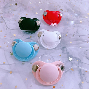 Cute Silicone pacifier Open Mouth Gag Plug MouthAdult Bondage Restraints Toys Ball Bdsm Sex Plaything for Woman Juegos Sexuales(China)