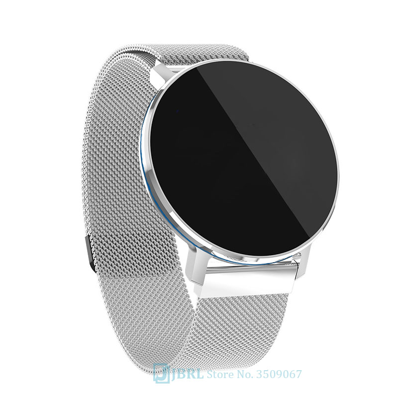 Round Smart Watch Men Women For Android IOS Smartwatch Electronics Smart Clock Wach Fitness Tracker Top Smart watch Wristwatch Smart Watches     - AliExpress