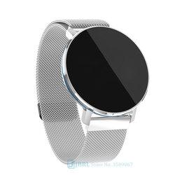 Round Smart Watch Men Women For Android IOS Smartwatch Electronics Smart Clock Wach Fitness Tracker Top Smart-watch Wristwatch