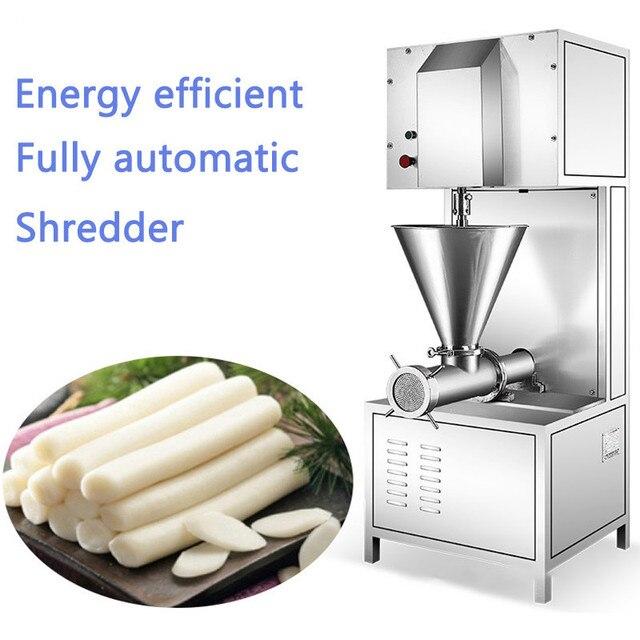 380V Commercial Pure Glutinous Rice Mincer 4000W Glutinous Rice Bait Block Automatic Crush  250kg/h Desktop Kitchen Appliance