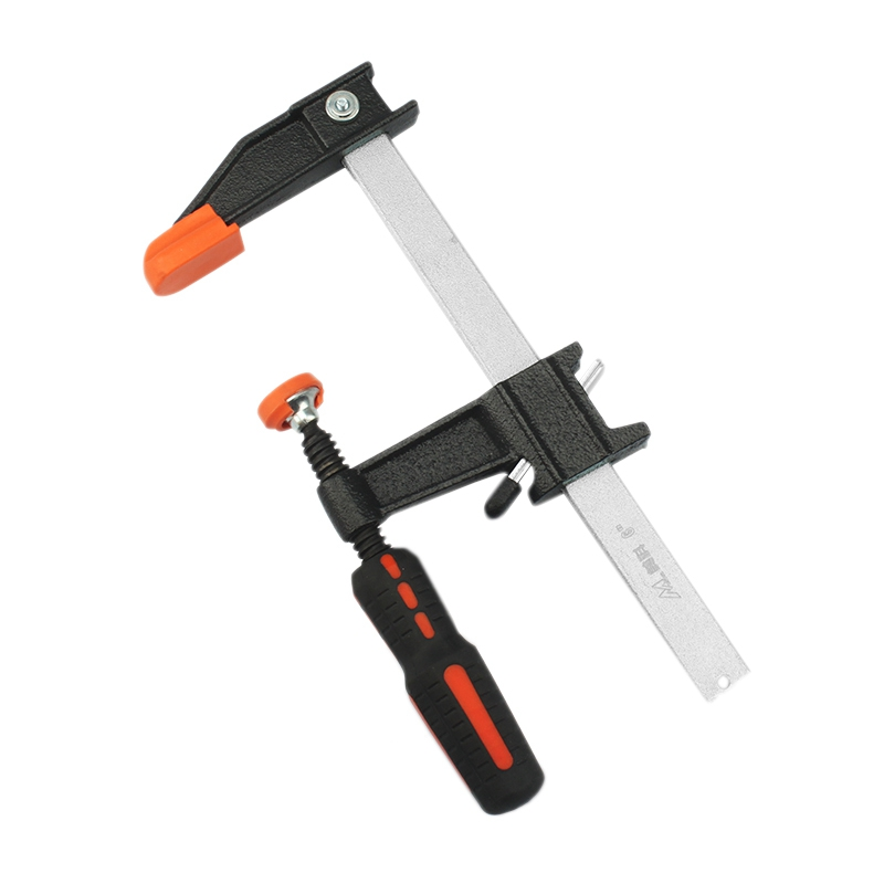 Big deal Clutch F Clamps Heavy Duty Bar Clamp 12 -Inch Quick Ratchet Wood Working Clamping Tool