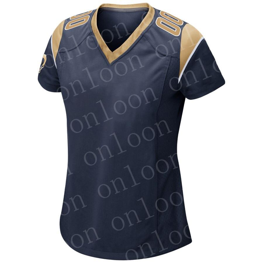 Womens 2020 New American Football Los Angeles Sport Fans Wear Aaron Donald Todd Gurley Ll Jerome Bettis Eric Dickerson Jerseys