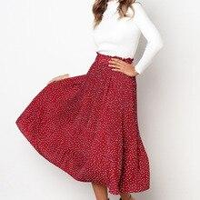 maternity clothes maternity skirt pleated skirt female long